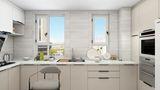 5-10万130平米三室两厅现代简约风格厨房设计图