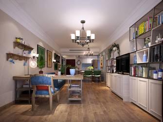 130平米四室两厅田园风格客厅设计图