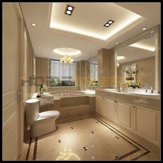 140平米复式欧式风格卫生间欣赏图