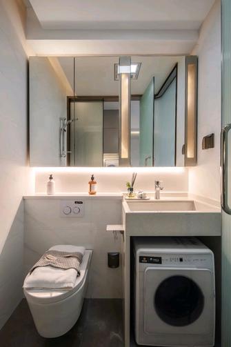 60平米一室一厅现代简约风格卫生间装修图片大全