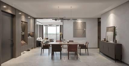 豪华型130平米三室三厅轻奢风格餐厅图