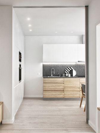 20万以上90平米三室一厅北欧风格厨房效果图