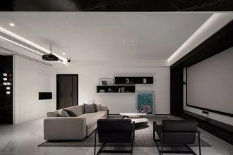 20万以上140平米别墅现代简约风格影音室效果图