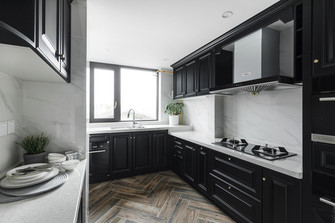 豪华型140平米四室两厅欧式风格厨房欣赏图