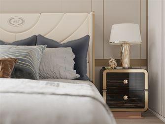 富裕型三室两厅轻奢风格卧室图片大全