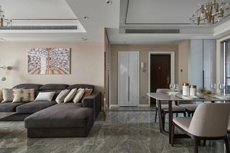 富裕型140平米三室两厅港式风格玄关欣赏图
