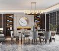 豪华型140平米四室四厅中式风格餐厅装修图片大全