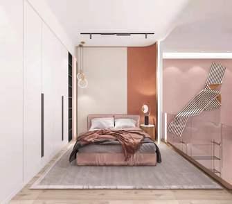 经济型40平米小户型混搭风格卧室设计图