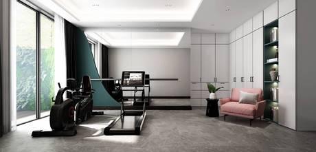 140平米别墅北欧风格健身房装修图片大全