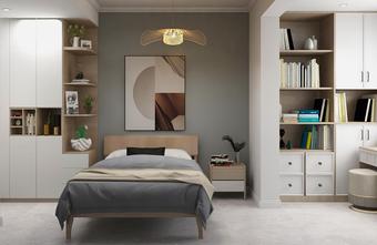 豪华型100平米四室两厅日式风格青少年房装修图片大全