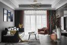 10-15万130平米三室两厅现代简约风格客厅图