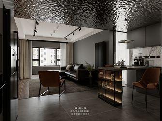 富裕型90平米一室两厅现代简约风格餐厅图片大全