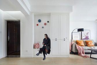 富裕型90平米三室两厅英伦风格玄关效果图