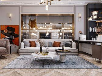 140平米美式风格客厅效果图