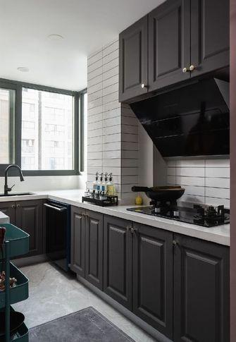 100平米三室两厅新古典风格厨房图片大全