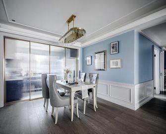 富裕型110平米三室两厅欧式风格餐厅图片