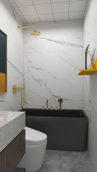 40平米小户型美式风格卫生间欣赏图