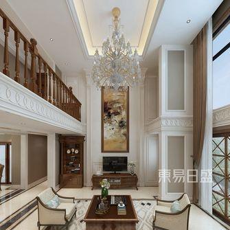 140平米复式美式风格客厅图片大全