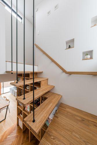 20万以上140平米复式日式风格楼梯间欣赏图