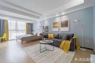 经济型50平米一室一厅现代简约风格客厅图片大全
