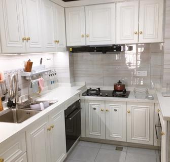 100平米三室两厅轻奢风格厨房效果图