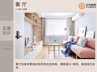 5-10万一室两厅日式风格客厅图