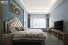 豪华型140平米四室一厅美式风格卧室图片