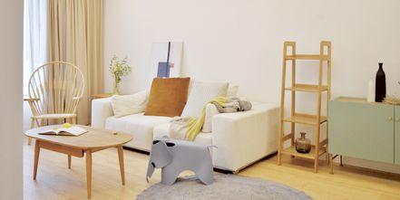 富裕型80平米三日式风格客厅图