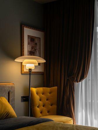 富裕型110平米三室一厅美式风格卧室设计图