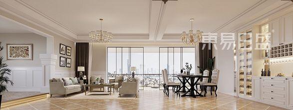 20万以上140平米复式混搭风格客厅装修图片大全
