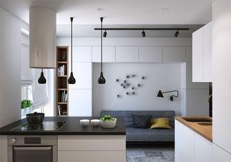 豪华型50平米一居室北欧风格厨房设计图