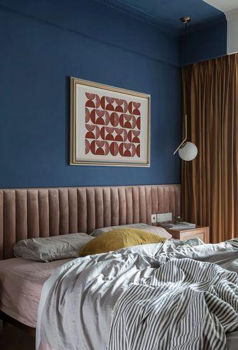 90平米三室一厅混搭风格卧室图