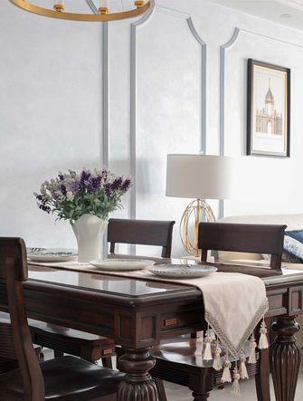 富裕型110平米公寓混搭风格餐厅装修效果图