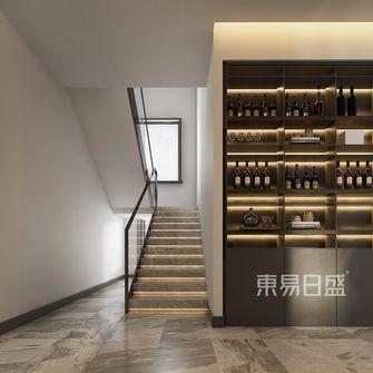 豪华型140平米别墅现代简约风格楼梯间欣赏图