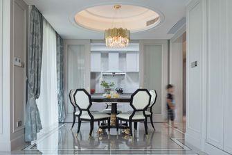 豪华型140平米四室四厅欧式风格餐厅装修图片大全