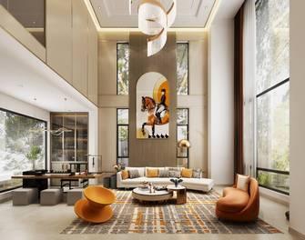 15-20万140平米四室两厅混搭风格客厅装修案例
