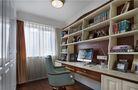豪华型110平米三美式风格书房图片