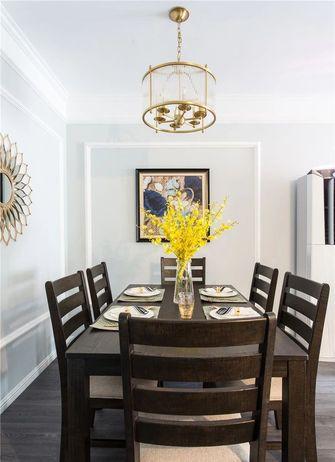 经济型100平米三室一厅美式风格卧室欣赏图