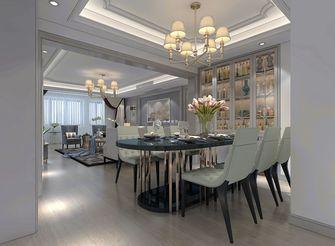 经济型120平米三美式风格餐厅装修案例