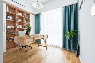 富裕型90平米三北欧风格书房图