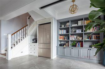 豪华型130平米复式现代简约风格楼梯间装修效果图