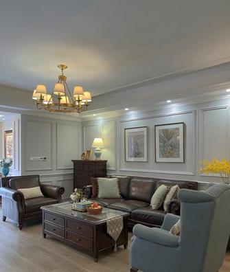 60平米公寓新古典风格客厅图片