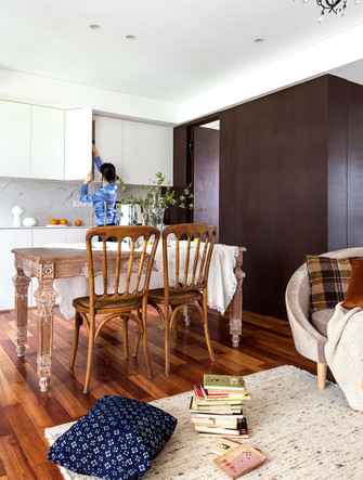 10-15万110平米公寓公装风格客厅装修效果图
