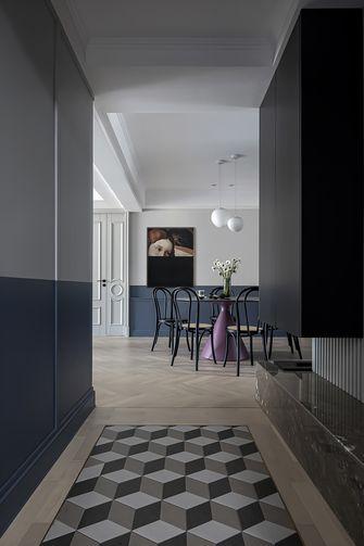 20万以上130平米三室两厅英伦风格餐厅装修案例
