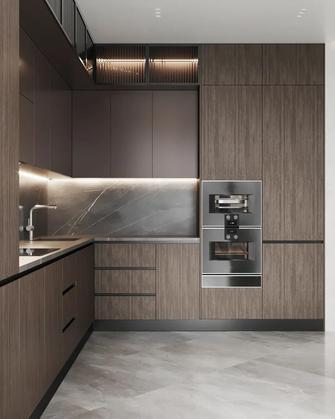 140平米四室两厅现代简约风格厨房装修案例