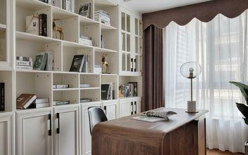130平米三室两厅美式风格书房欣赏图