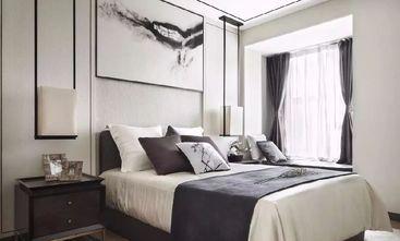 130平米三室三厅现代简约风格卧室图