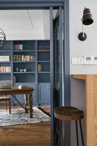 20万以上140平米别墅北欧风格书房图片