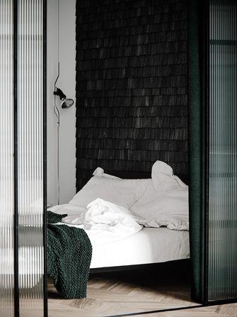 富裕型50平米小户型工业风风格卧室效果图