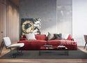 经济型90平米三室两厅混搭风格客厅设计图